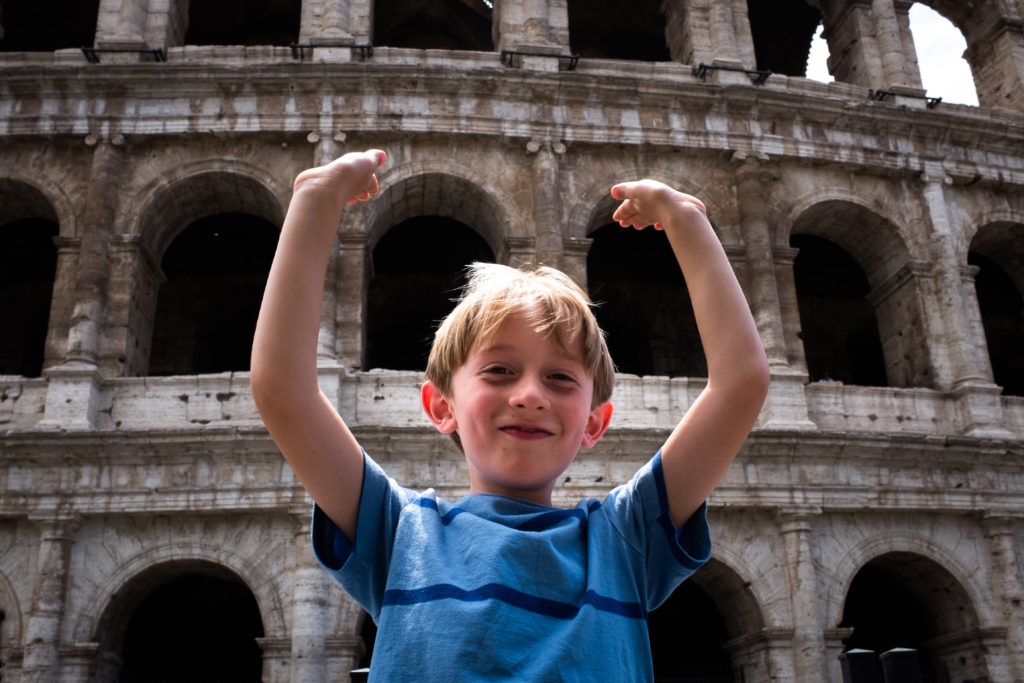 Carson at the Colosseum